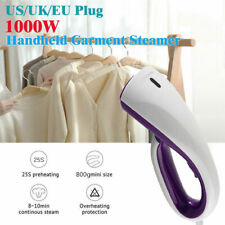 Handheld Steamer Portable Fabric Steam Iron Clothes Garment Compact Quick US