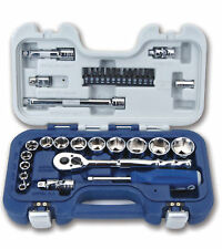 "34pc 3/8""Dr Basic Tool Set, SAE Shallow Supertorque® Sockets & Screwdriver Bits"