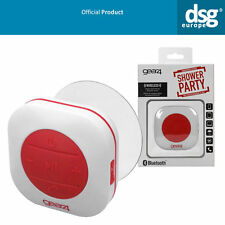 GEAR 4 showerparty Wireless Impermeabile Bluetooth Vivavoce Altoparlante Muro Rosso