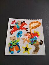 Vintage Sandylion Stickers Mylar Bears Sticker Mod VTG RARE HTF