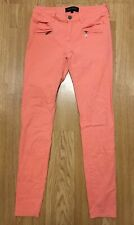 RIVER ISLAND ladies pink skinny jeans size 8