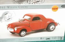 TESTORS 1941 WILLYS COUPE GASSER ASSEMBLY MODEL KIT 1/43 SEALED BOX SKILL 2
