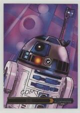 2015 Topps Star Wars Illustrated: The Empire Strikes Back #8 R2-D2 Card e0y