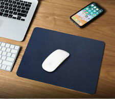 Leather Officer Plain color Waterproof Non-slip mousepad 210X260mm