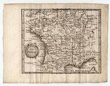 Frankreich-France-map-Kupferkarte Martinet 1761