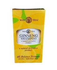 WAN-THAI GINSENG SHAMPOO Natural Derivative Product For Dry-Split Ends Hair 90ml