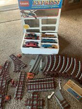 Vintage Playskool Express Train Track Set 1988 Rare With Box All Pieces There