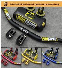 ProTaper Evo Motorcycle Handle Handlebar Dirt Bike  1-1/8 ATV Quad grips pad