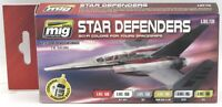 AMMO AMIG7130 Star Defenders (Sci-Fi Colors for Your Spaceships) Acrylic Paints