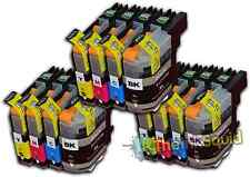 12 LC121 Cartuchos de tinta para la impresora hermano MFC-J470DW MFC-J650DW MFC-J870DW