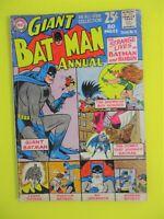 DC Comics Bat Man Annual #5 ALL STAR Collection1963 Vintage Old Comic Book