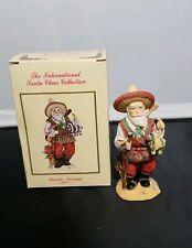 The International Santa Claus Collection Poncho Navidad Mexico Figurine