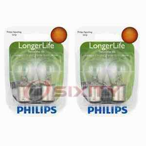 2 pc Philips Tail Light Bulbs for Volkswagen Beetle Karmann Ghia 1958-1966 rd
