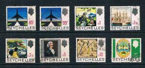Seychelles 1969 Top High Values - History Set - SC 265-271 [SG 272-279] USED 21