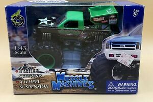 Muscle Machines USA Too Wild 1:43 Scale MONSTER PATROL -  Monster Truck 2003