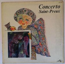 SAINT- PREUX Concerto Disque VINYL LP 33T STEC LP 85 France