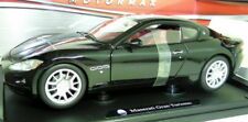 Motormax 1/18 Scale - Maserati Gran Turismo Black diecast Model car