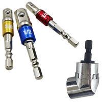3pcs Hex Drill Bit Socket Adapter Drive Electric Impact Driver Conversion Bar US