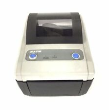 Sato CG408DT-LAN Barcode Label Tag Direct Thermal Ethernet USB  Printer