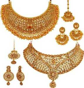 Alloy Gold-plated Jewel Set  (Gold)