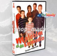 Malcolm El De Enmedio - Tercera Temporada Dvd Región 1 Y 4 - ESPAÑOL LATINO