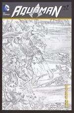 AQUAMAN #9 1:25 Sketch Variant NM Ivan Reis Geoff Johns New 52 DC Comics 2012
