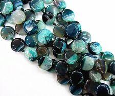 18pcs/1set Beautiful round Druzy Geode Agate pendant bead 20x9mm BC4490