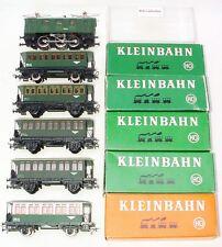 Kleinbahn HO 1:87 ÖBB E-1280 ELECTRIC LOCOMOTIVE + 5x PASSENGER WAGON Set MIB!