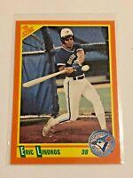 1990 Score Traded Baseball Rookie Card - Eric Lindros - Toronto Blue Jays