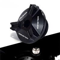 Für Ducati MONSTER 696 795 796 821 EVO Öleinfülldeckeldeckel Motorablassschraube