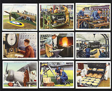 Cigarette Cards.Churchman Tobacco.The R.A.F. At Work.(M).(1937).(Full Set of 48)
