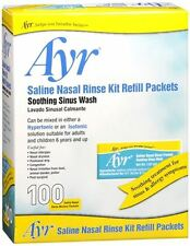 Ayr Sinus Rinse Refill Packets 100 Each