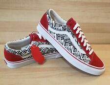 VANS Style 36 Mix Racing RED size 12 Athletic Shoes Skateboard old skool sneaker