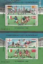 Timbres Sports Football Roumanie BF195/6 ** lot 13482