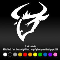 """5"""" Tribal tattoo Taurus Bull Astrology Diecut Bumper Window Vinyl Decal sticker"""