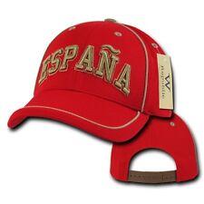 Spain España Soccer Football Dri Cool Mesh World Cup Red Gold Baseball Hat Cap
