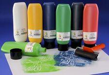 1 X 300ml Water Based Lino Craft Block Printing Ink Black