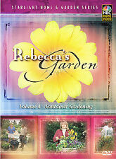 Rebeccas Garden: Volume 4 - Container Gardening (Dvd, 2003)
