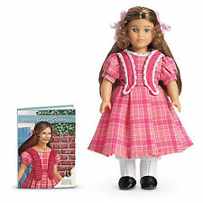 "American Girl MARIE GRACE MINI DOLL CLEAR COVER 6"" in Box Retired Book NEW"