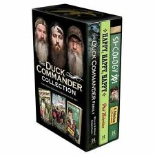 NEW 3-Hardcover Boxed Set! The Duck Commander Collection - Phil & Si Robertson