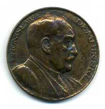 Alte Medaille Polen Bronislaw Dembinski Uniwersytet Poznanski 1883 - 1933 M_394