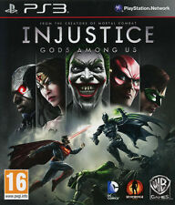 Injustice Gods Among Us PS3 Playstation 3 IT IMPORT WARNER BROS