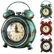 Assorted Retro Rustic Wall Clock Silent Sweep 9inch Battery Power Quartz Clock