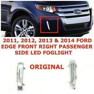 FIT FOR 2011 2012 2013 2014 FORD EDGE DAYTIME RUNNING LAMP RIGHT /& LEFT