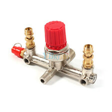 Double Outlet Tube Alloy Air Compressor Switch Pressure Comtroller Valve Parts