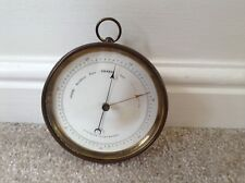 Rare Early antique Aneroid Barometer Dubois And Casse France Collectable