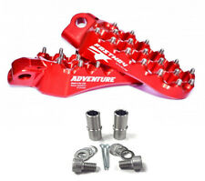 FASTWAY ADVENTURE FOOTPEGS & MOUNT KIT - RED - GAS GAS EC/MC/XC - 1999-2014