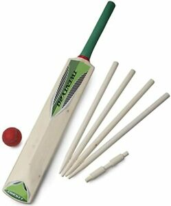 Cricket Set For Kids With A Bat Ball Bails And Stumps Size 3 or 5 Kids Cricket