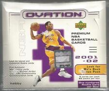 2001-02 Upper Deck Ovation HOBBY Box MJ's Back Jordan Auto?