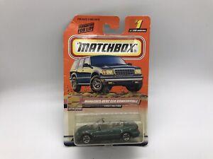 Matchbox #1 Mercedes-Benz CLK Convertible With MB 2000 Logo New Diecast Toy Car